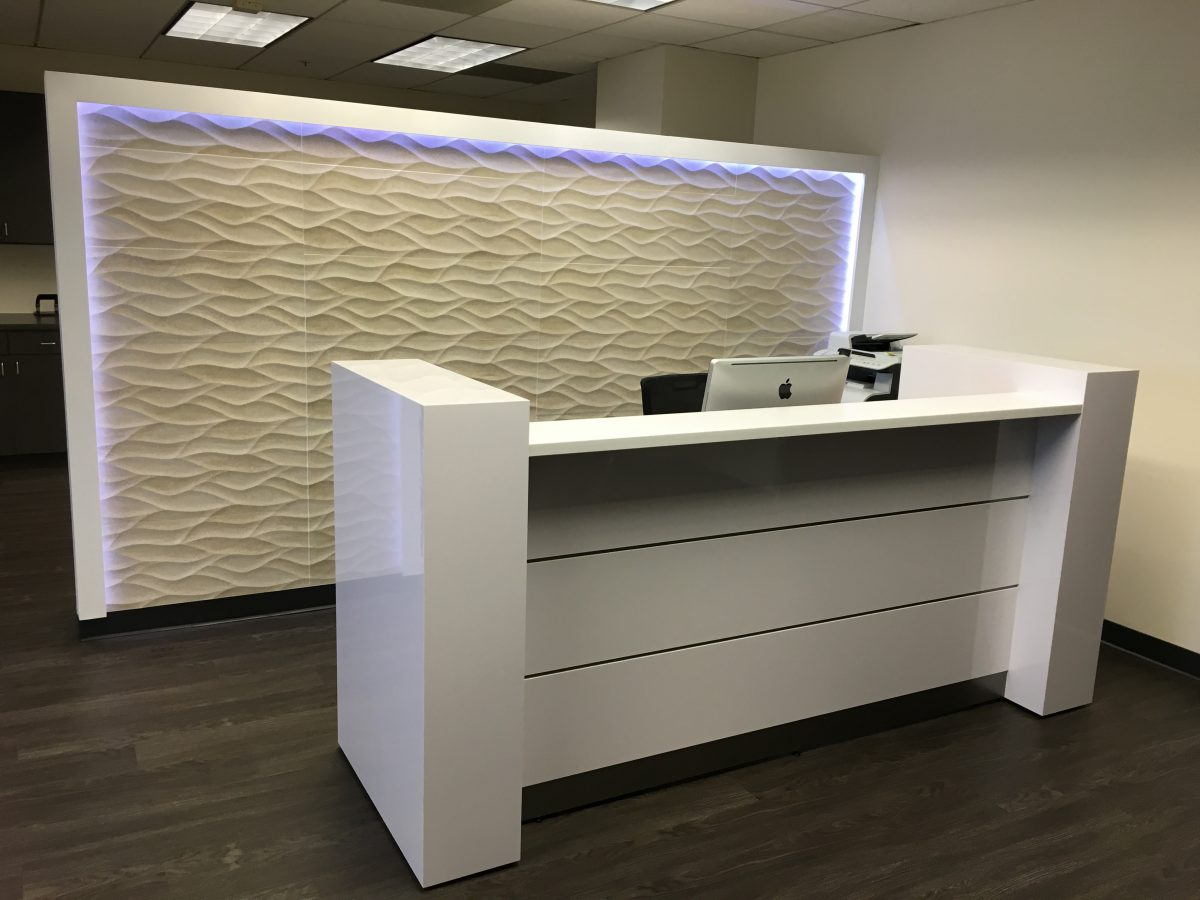 Design Ideas for Reception Areas! - LA Healthcare Design Inc