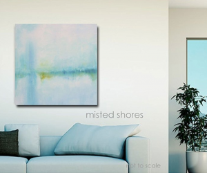 misted shores painting