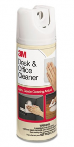 desk and office cleaner